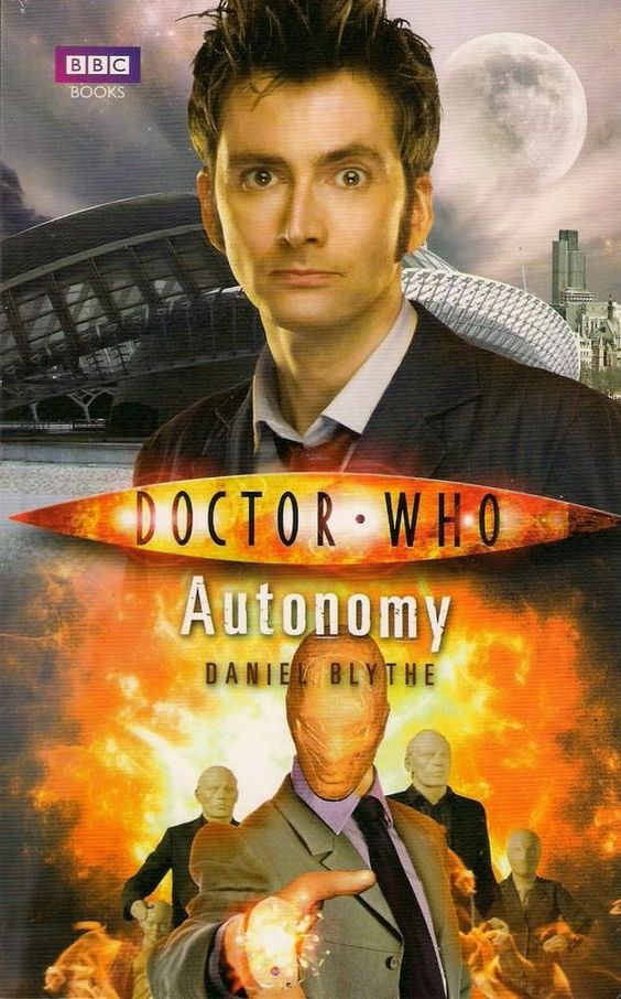 DOCTOR WHO  AUTONOMY by DANIEL BLYTHE  10th DOCTOR  NEW PAPERBACK