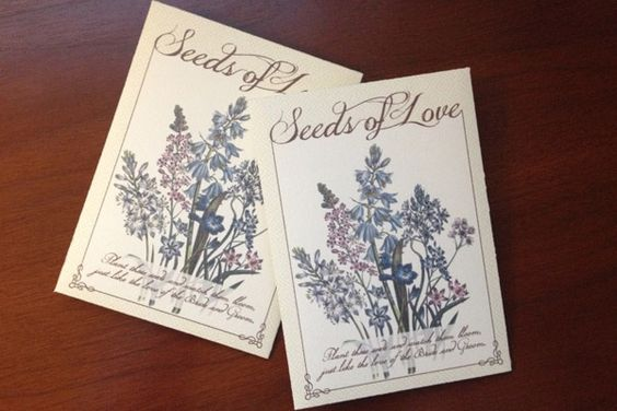 DIY Seed Packet Wedding Favors photo | The Budget Savvy Bride