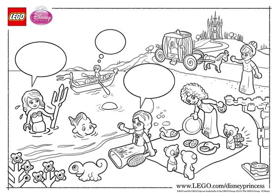 Lego Elves Characters Coloring Pages Coloring Pages
