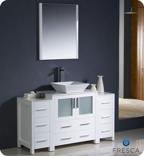 Good 54 Inch Bathroom Vanity With Images Modern Bathroom