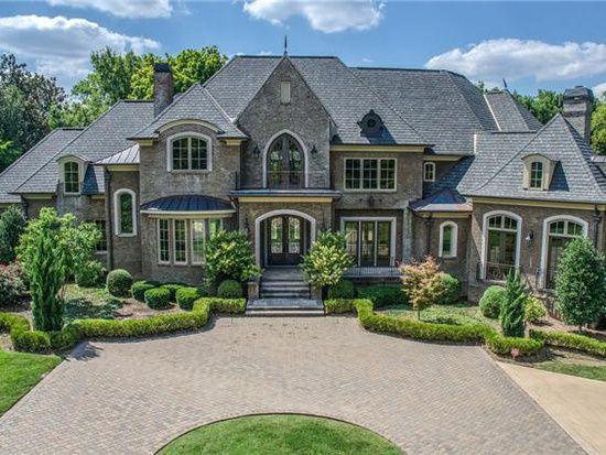 2323 Woodmont Blvd Nashville Tn 37215 Zillow Big Houses Exterior Dream House Exterior Luxury Homes Dream Houses