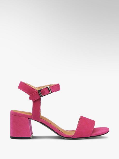 Sandalette Von 5th Avenue In Pink Deichmann Schuhe Damen Fesselriemchen Sandaletten