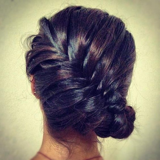 Cute Braid & Side Updo - Hairstyles and Beauty Tips