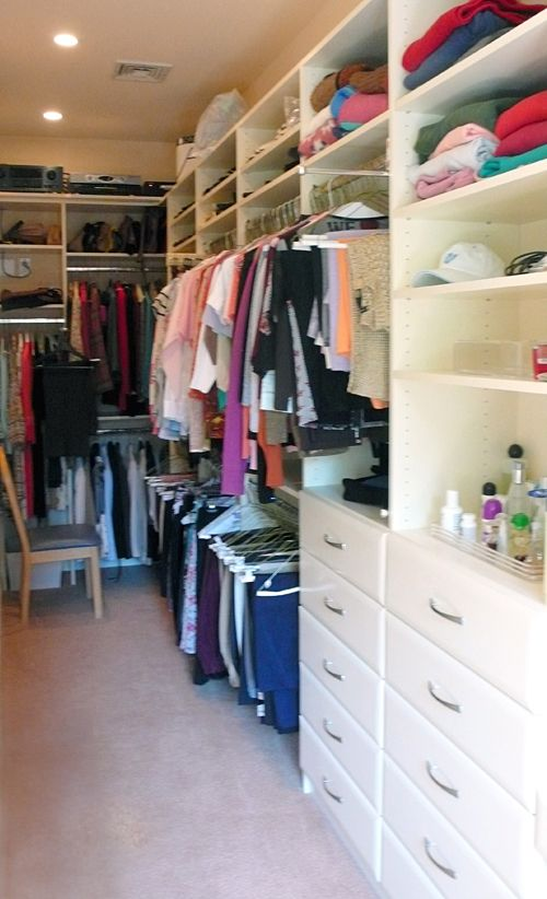 Narrow Closet Narrow Closet Narrow Closet Organization Long