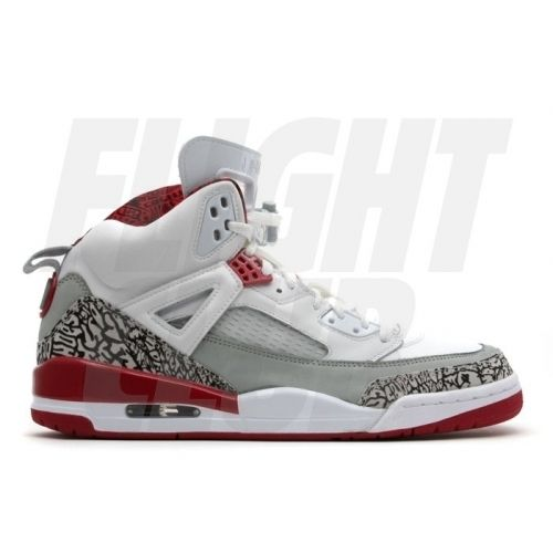 Air Jordan Spizike White Varsity Red Cement Grey Black 315371-164 $55.00 |  Kicks | Pinterest | Jordan spizike, Air jordan and Gray