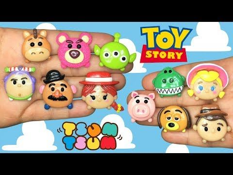 Toy Story Tsum Tsum Polymer Clay Tutorial Youtube Polymer