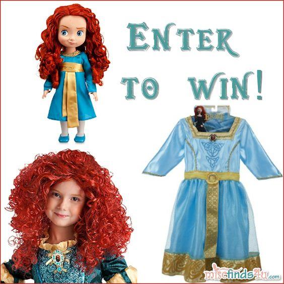 Disney Pixar Merida Toddler Prize Pack BRAVE Giveaway