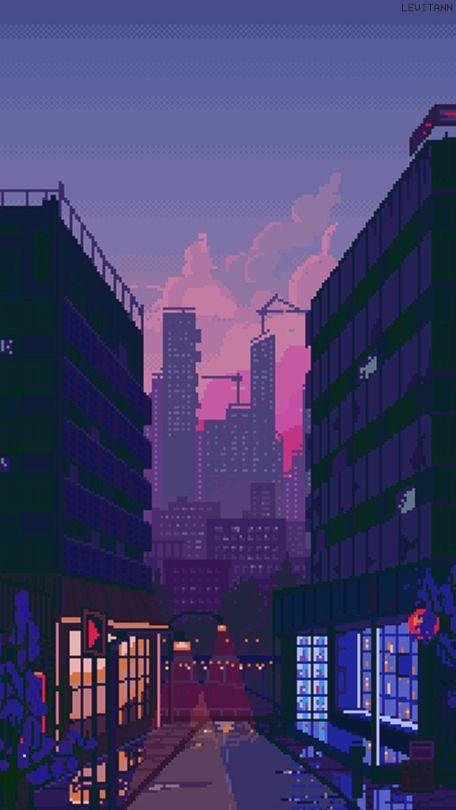 Pixel Art Wallpaper Tumblr Pixel Art Landscape Pixel Art