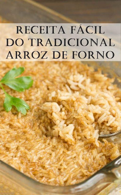 Receita Tradicional De Arroz De Forno Arrozdeforno