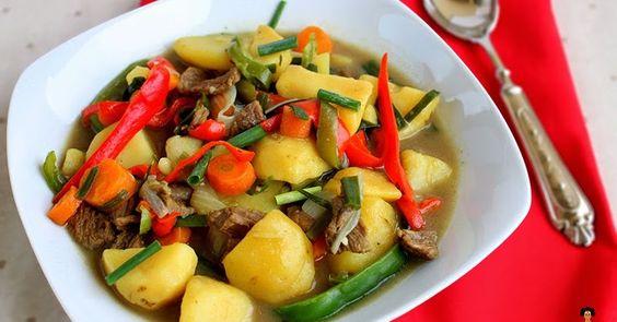 Dobbys Signature: Nigerian food blog | Nigerian food recipes | African food blog: Beef and potato soup recipe