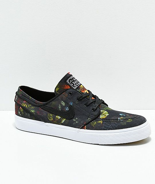 Nike SB Janoski Floral Canvas Shoes in 2019