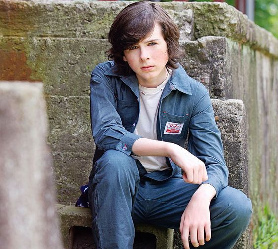 Chandler Riggs, Carl Grimes from The Walking Dead,