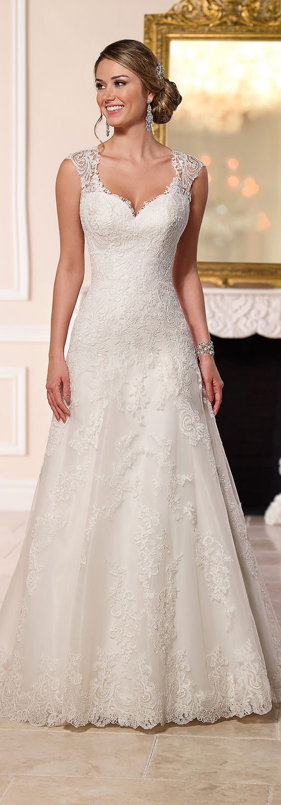 Stella York Spring 2016 Wedding Dress - Belle The Magazine: