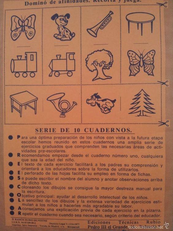 Libros de segunda mano: CUADERNO PRE-ESCOLAR RUBIO Nº 6 - Foto 2 - 60266623