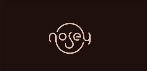 Nosey logo from Design Shack