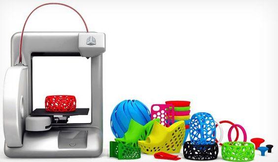 Voltada para o mercado doméstico, a impressora 3D Cubify, que funciona por conexão Wi-Fi e é capaz de imprimir objetos com até 14 cm de altura e comprimento, está chegando ao mercado norte-americano 25 de maio, por US$ 1.3 mil - cartuchos com material plástico para impressão custarão US$ 50. No G1 Tecnologia ♦ via ClipLink ♦ http://cliplink.com.br/6605