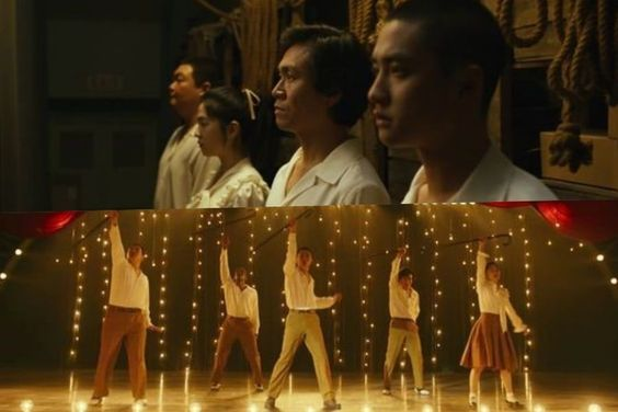 """Watch: EXO's D.O., Park Hye Soo, And More Dance Their Hearts Out In New """"Swing Kids"""" Trailer"""