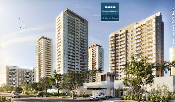 Parques da Lapa - Apartamentos de 96m² - 2 suítes ou 3 Dorm na Av. Raimundo Pereira de Magalhães x Campos Vergueiro - Zona Oeste de São Paulo - SP--Preço a partir de: R$ R$ 675.400,00