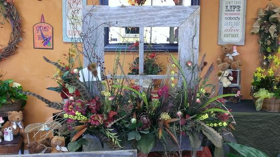 Barn wood window box