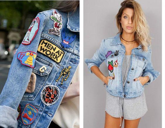 Bruna Meister » Tendência: Jaqueta jeans com Patches