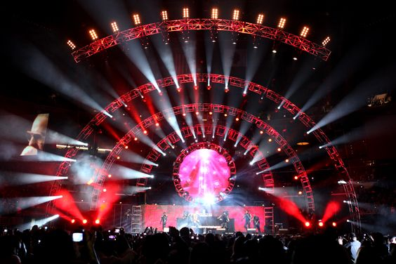 Radio City Concert Lighting #Eventinterface                                                                                                                                                     More