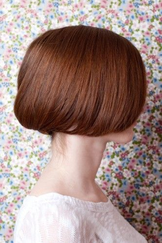the faux-bob. a perfect solution for hot days & long hair.