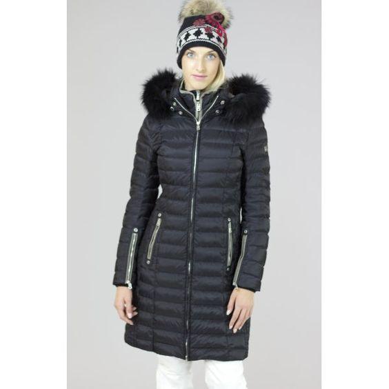 Bogner Lilia D | Bogner Womens Winter | Down filled Coat in Black