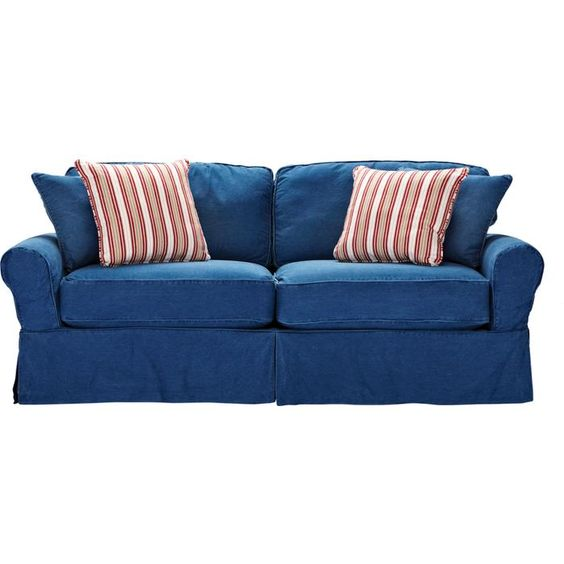 blue couches by ashley furniture colorful living room ideas to coordinate with flirty. Black Bedroom Furniture Sets. Home Design Ideas
