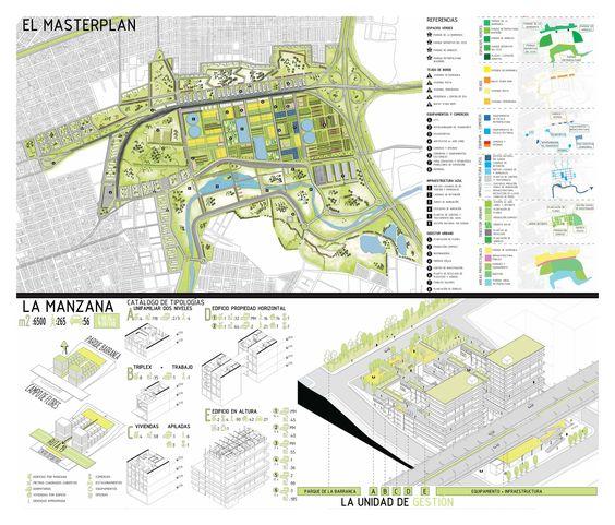"""O concurso latino-americano para estudantes de arquitetura """"Pensar la vivienda, vivir la ciudad""""concedeuo primeiro lugaràequipe compostapor..."""