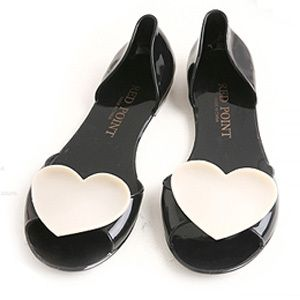 Mellisa Women's Jelly Flats Shoes Max Sexy-Star Heart | eBay