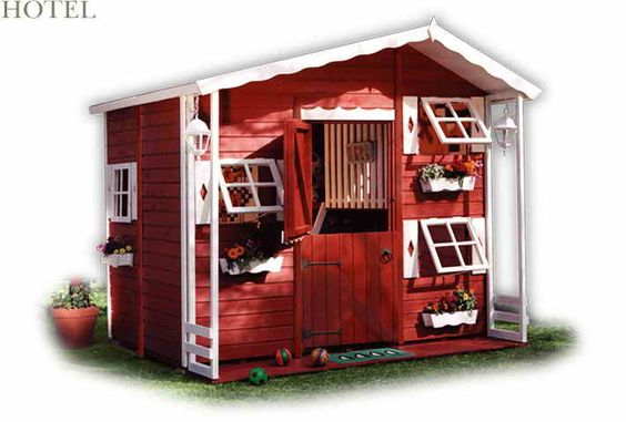 Hotel Small Playhouses for Kids Playground