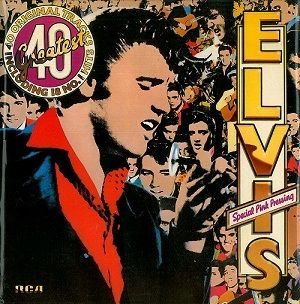 Buy the Elvis Presley 40 Greatest Pink Vinyl online at Planet Earth Records. This classic Elvis Presley vinyl is available online in great condition, buy today. http://www.planetearthrecords.co.uk/elvis-presley-40-greatest-vinyl-record-lp-rca-1978-pink-vinyl-30332-p.asp | £14.99
