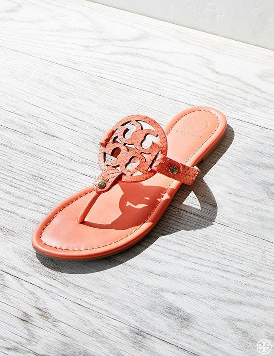 Classic Tory Burch Miller Sandals