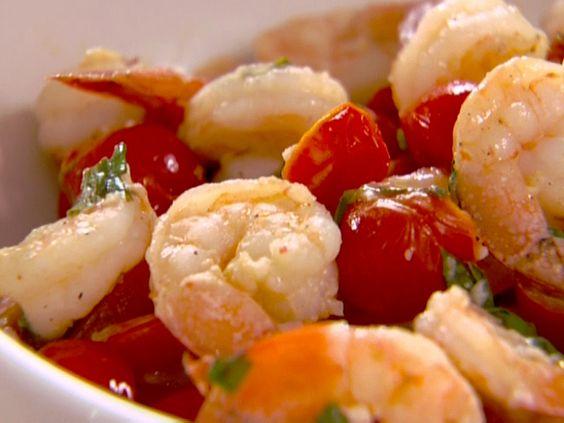Garlic Basil Shrimp from FoodNetwork.com