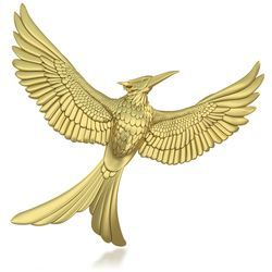 The Hunger Games: Mockingjay Ornament...i am so getting this :)