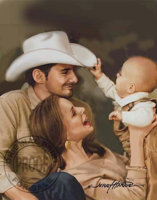Brad paisley and family country strong pinterest for How many kids does brad paisley have