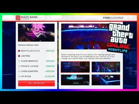 Awesome Gta Online S Hidden Nightclub Features Secret Bahama