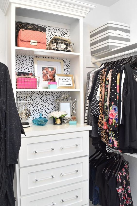 walk in closet wallpaper