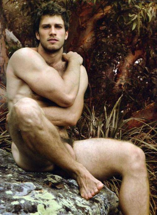 Man nature nude