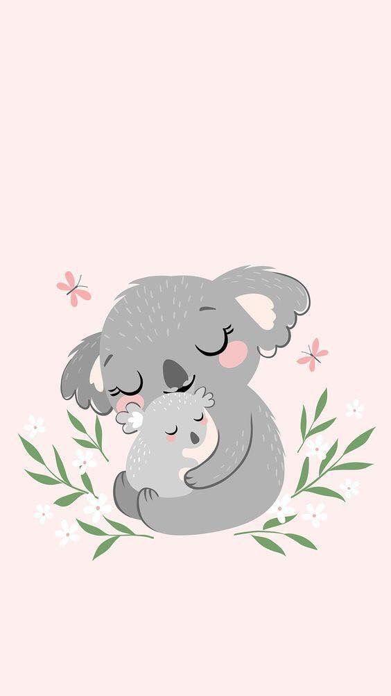 Pin By Auxi Gomez On Koalas Bear Wallpaper Cute Wallpapers Kawaii Wallpaper