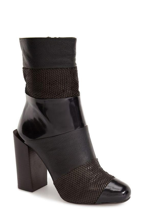 Jeffrey Campbell 'Pezzi' Almond Toe Boot (Women)