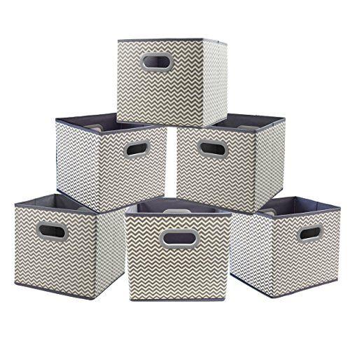Homyfort Cloth Storage Bins Foldable Basket Cubes Organi Https Smile Amazon Com Dp B0752ghrw7 Ref Cm Storage Bins Cube Storage Baskets Cube Storage Bins