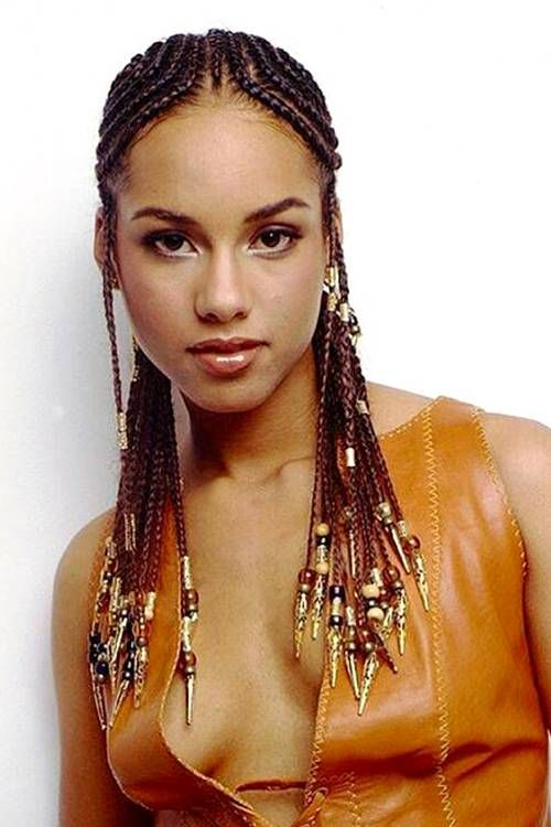 13 Hairstyles With Beads That Are Absolutely Breathtaking Hair Styles Alicia Keys Hairstyles Natural Hair Diy