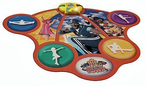 LazyTown Get Up and Move Dance Mat. Excellent condition! Batteries included and US FREE SHIPPING!