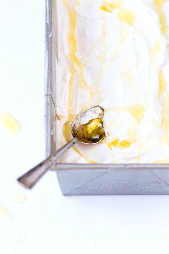 Salty Honey Ice Cream {via heartbeet kitchen}