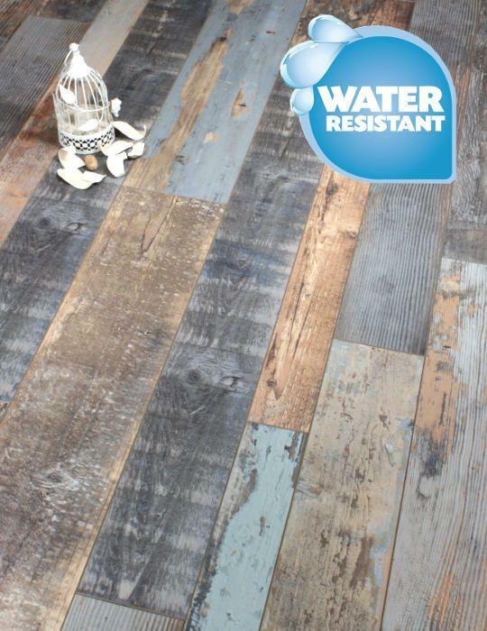Cobalt Blue Grey Laminate Flooring Packs Click 20 Year Warranty