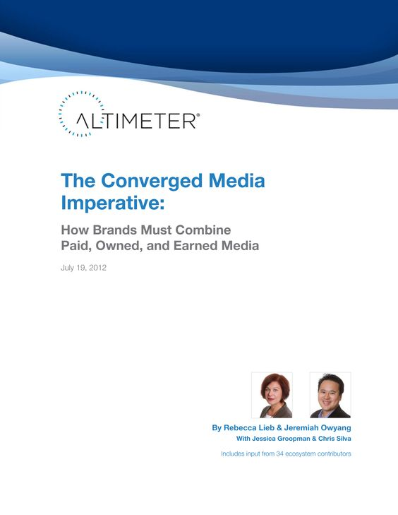 The Converged Media Imperative #SlideShare #favourite