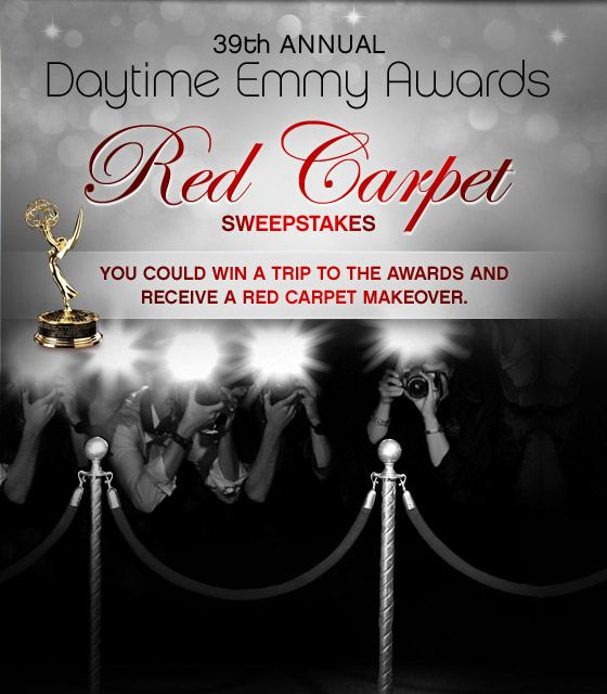 You could win a trip to the 39th Annual #DaytimeEmmys Awards and receive a #redcarpet #makeover from #HLN
