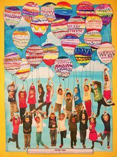 "From exhibit ""Art Auction Gan 2014"" by Alyssa11912 (Art ID #30780489) from Thayer Elementary School— Kindergarten United States"