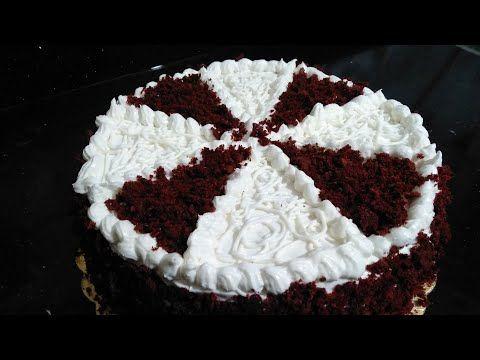 تورتة ريد فيلفيت باللون الاحمر المخملى Red Velvet Cake بكريمة الجبنة Youtube Desserts Cake Food